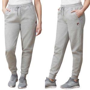 Fila Ladies' Heritage Jogger - Grey ONLY